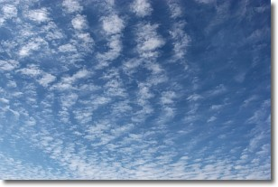 Cirrocumulus Clouds