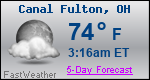 Weather Forecast for Canal Fulton, OH