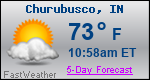 Weather Forecast for Churubusco, IN