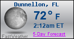 Weather Forecast for Dunnellon, FL