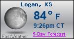 Weather Forecast for Logan, KS
