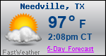 Weather Forecast for Needville, TX