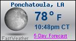 Weather Forecast for Ponchatoula, LA