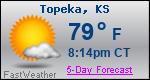 Weather Forecast for Topeka, KS