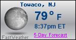 Weather Forecast for Towaco, NJ