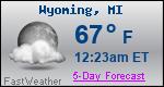 Weather Forecast for Wyoming, MI